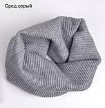 Хомут Баффі шарф на шию весняний для дорослих і дітей, фото 8