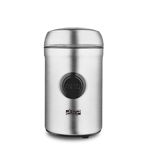 Электрическая кофемолка для кофейных зерен и специй DSP KA-3045 объем 75 г 200 Вт