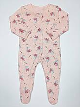 """Человечек Джордж для девочки """"Минни Маус"""", 50-56 (First Size)"""