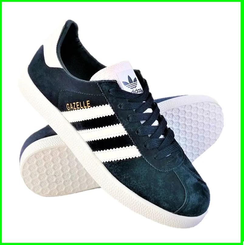 Кроссовки Adidas Gazelle Синие Адидас Женские (размеры: 37,38,39,40,41) Видео Обзор