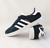 Кроссовки Adidas Gazelle Синие Адидас Женские (размеры: 37,38,39,40,41) Видео Обзор, фото 3