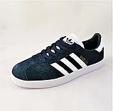 Кроссовки Adidas Gazelle Синие Адидас Женские (размеры: 37,38,39,40,41) Видео Обзор, фото 4