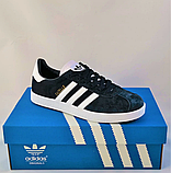 Кроссовки Adidas Gazelle Синие Адидас Женские (размеры: 37,38,39,40,41) Видео Обзор, фото 7