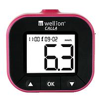 Глюкометр для вимірювання рівня глюкози в крові Calla Light blackberry WELLION