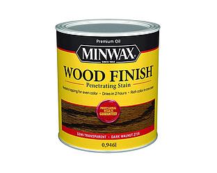 Морилка масляная MINWAX WOOD FINISH для древесины темный орех (2716) 0,946л