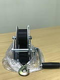 Лебедка для прицепа с лентой и крюком 1400lbs оцинкованная, фото 6