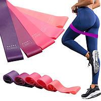 Комплект резинок для фитнеса LOOP BANDS из натурального латекса.