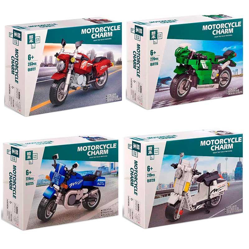 "Конструктор ""Мотоцикл"" QL 0725-0728"