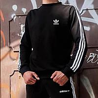 Свитшот в стиле Adidas Badge черный