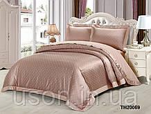 Комплект постельного белья из жаккарда однотонного ТМ Love you 2-57