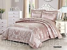 Комплект постельного белья из жаккарда однотонного ТМ Love you 2-58