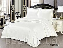 Комплект постельного белья из жаккарда однотонного ТМ Love you 2-60