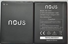 Оригинальный аккумулятор АКБ (Батарея) для BQS-5070 Magic для BQ BQS-5070 Magic (3.8V 2000mAh)