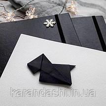 Скетчбук для Акварели 21*21см в твердой обложке Sketch Terier 25% хлопка (Белая обложка), фото 3