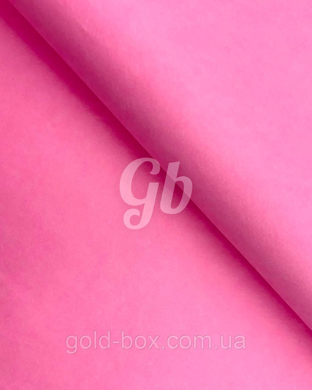Папір тишею «Рожева» 50шт