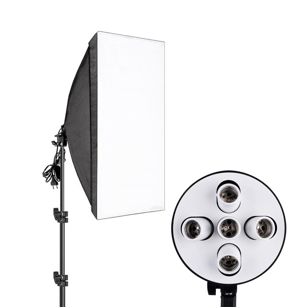 Студийный свет, софтбокс на 5 ламп ( 50х70см )