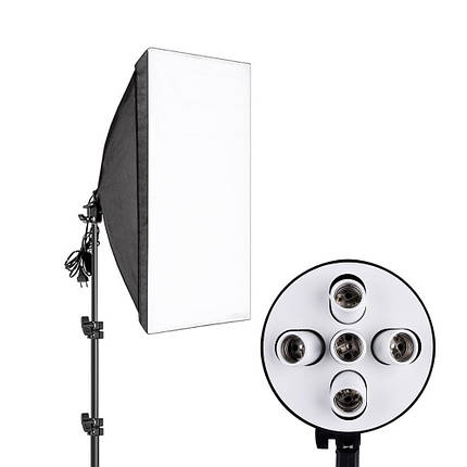 Студийный свет, софтбокс на 5 ламп ( 50х70см ), фото 2