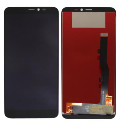 Дисплей (екран) для ZTE A606 Blade з сенсором (тачскріном) чорний Оригінал