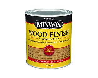 Морилка масляная MINWAX WOOD FINISH для древесины золотой дуб (210B) 0,946л