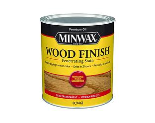 Морилка масляная MINWAX WOOD FINISH для древесины сосна Ипсвич (221) 0,946л