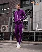 Весенний комплект Palm - Lines violet 052