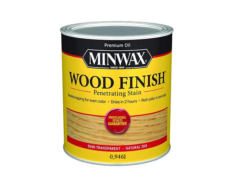Морилка олійна MINWAX WOOD FINISH для деревини натуральний (209) 0,946 л