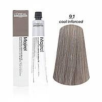 Мажірель Кул Інфорсед, крем-фарба для волосся, відтінок 9.1, 50 м