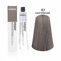 Мажірель Кул Інфорсед, крем-фарба для волосся, відтінок 8.1, 50 мл