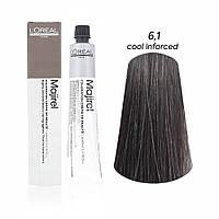 Мажірель Кул Інфорсед, крем-фарба для волосся, відтінок 6.1, 50 мл