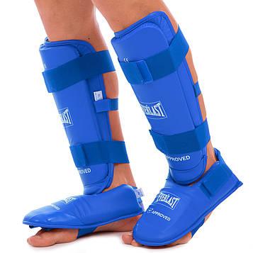 Захист гомілки з футами для єдиноборств PU ELS BO-3958 (р-р S-XL , кольори в асортименті)