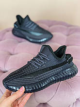 Кроссовки унисекс в стиле Yeezy Boost Black
