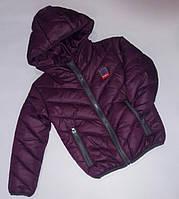 Детская курточка осень-весна с капюшоном 92-116 см, фото 1