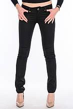 Стрейчевые джинсы Омат jeans 9800 черные
