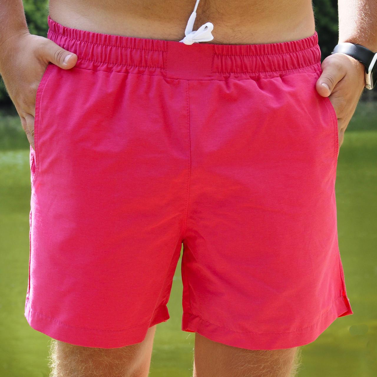 Чоловічі рожеві Плавальні Шорти Асос