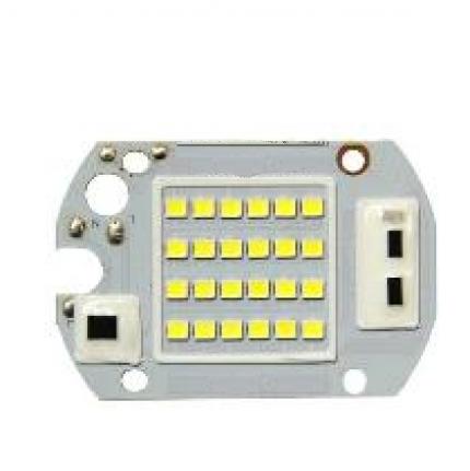 Запчастина для прожектора матриця 30W 6000K SMD+IC драйвер