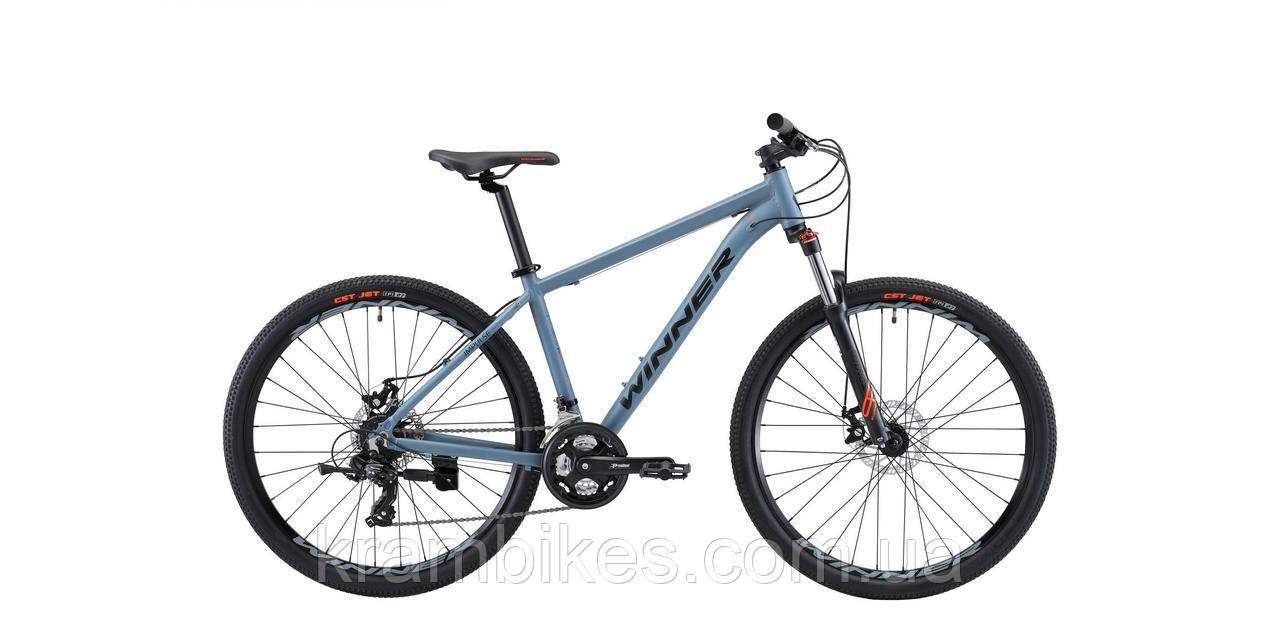 "Велосипед Winner - IMPULSE (2021) (27.5""-17"") Серый"