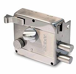 Накладний Замок Apecs 0556-C-S з поворотником під англійський ключ 304714