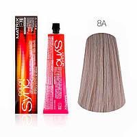 Фарба для волосся тон в тон Color Sync, 8A, 90мл Matrix