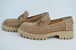 Туфлі жіночі Aquamarin 3091 36 Візон замша, фото 3