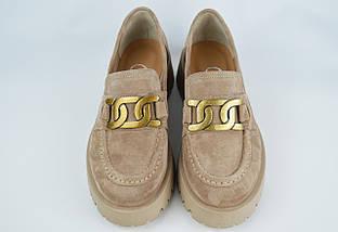 Туфлі жіночі Aquamarin 3091 36 Візон замша, фото 2
