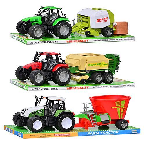 Трактор інерційний з причеп 3 віді 4089-6089-7089 B