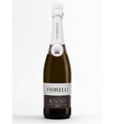 Шампанське (вино) Фіорелло Мускат Спуманте Дольче Fiorelli Moscato Spumante Dolce 750 мл Італія