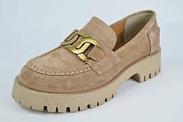 Туфли женские Aquamarin 3091 39 Визон замша