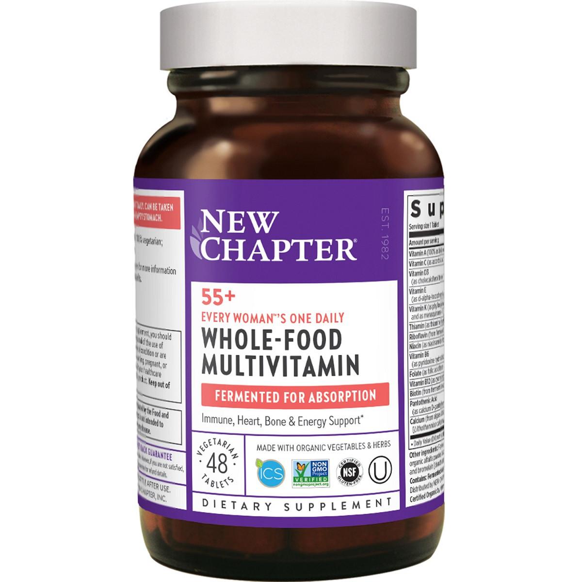 Ежедневные Мультивитамины Для Женщин 55+, Every Woman, New Chapter, 48 Таблеток