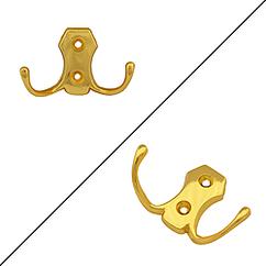 Гачок-вішалка меблевий Miradel економ 6017С золото