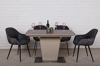 Стол раскладной Alabama (120/160*80) керамика кофейный ТМ Nicolas, фото 3