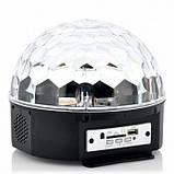 Светомузыка диско шар Magic Ball Music MP3 плеер с bluetooth, фото 2