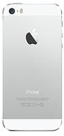 Задняя часть корпуса Apple iPhone 5S Оригинал Белый