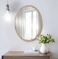 Зеркало настенное овальное сонома 700 х 500 мм, фото 1