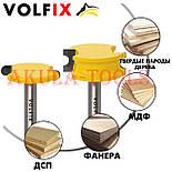 Фрези VOLFIX d8 для виготовлення бочок паз шип (тато-мама) пазо-шиповая фреза для з'єднання, фото 3